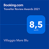Booking Traveller Review Awards 2021 Villaggio Mare Blu Vieste