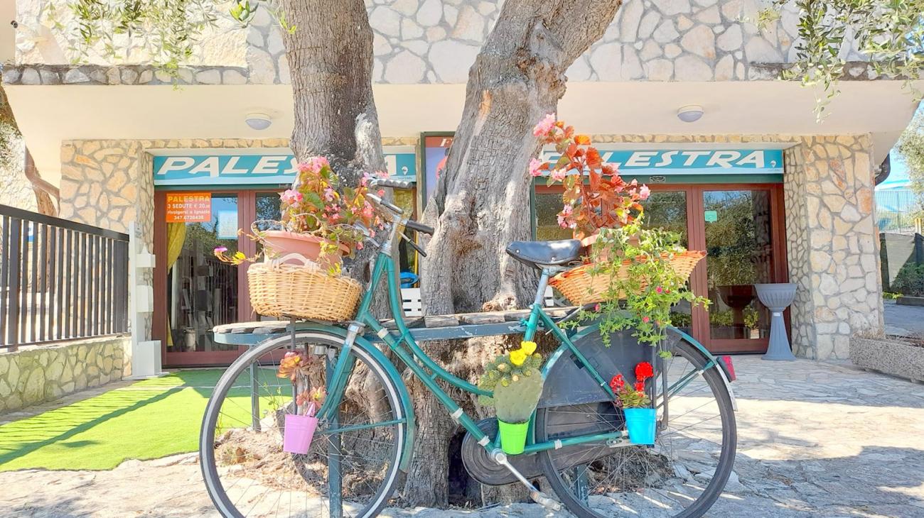 Bicicletta Villaggio Mare Blu Vieste