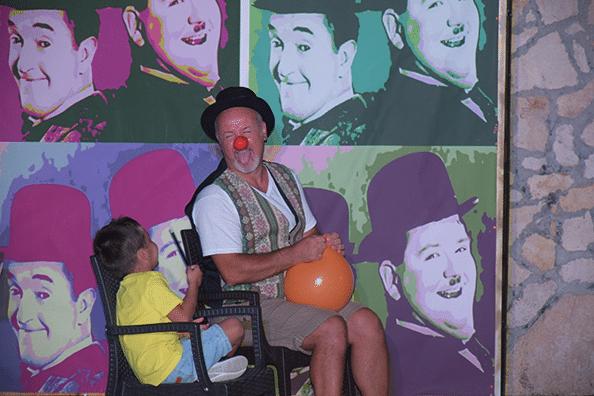 Sasà clown 002020 - Villaggio Mare Blu Vieste